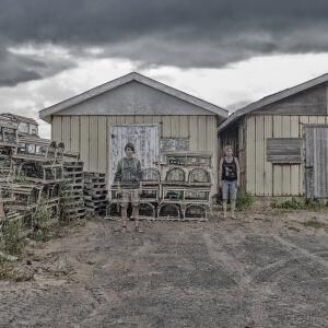 Quatre visions d'une île Un reportage photographique à l'honneur sur les murs intérieurs du Cégep de Matane<br />Crédit Photo: Alice Boutten