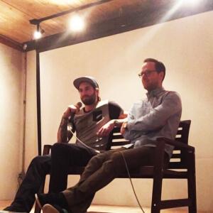 Nicolas Canniccioni et Pierre-Luc Labbée de Framestore<br />