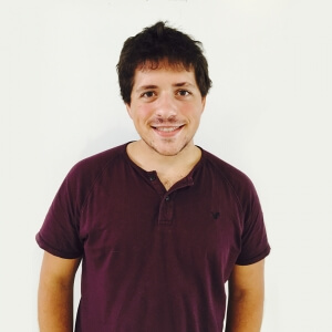 Monsieur Brian Grimaldi, moniteur d'anglais langue seconde au Département des langues.<br />