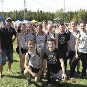 Les Capitaines - Première compétition 2015-2016 à Sherbrooke.<br />