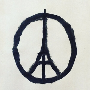 Peace for Paris<br />Crédit Photo: Slate.fr