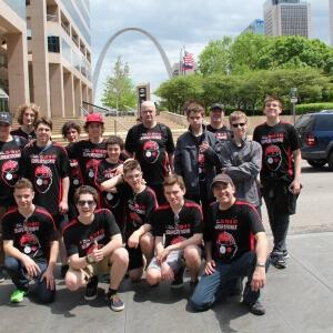 L'équipe SuperTronix à St-Louis, Missouri, États-Unis.<br />