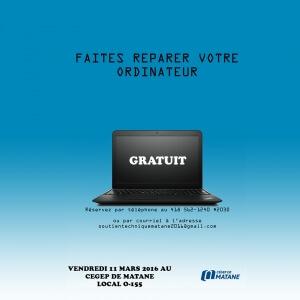 Faites réparer votre ordinateur! <br />