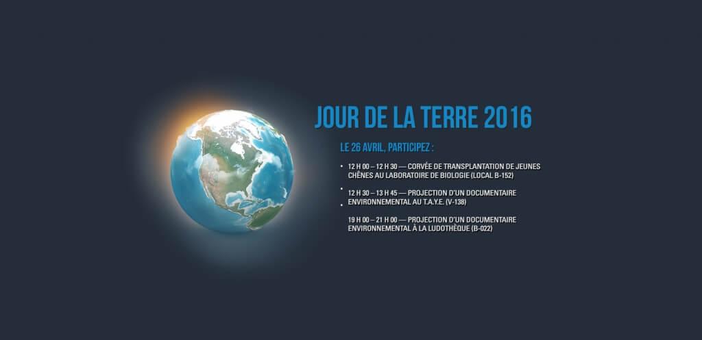 Le CACE du Cégep de Matane souligne le Jour de la Terre