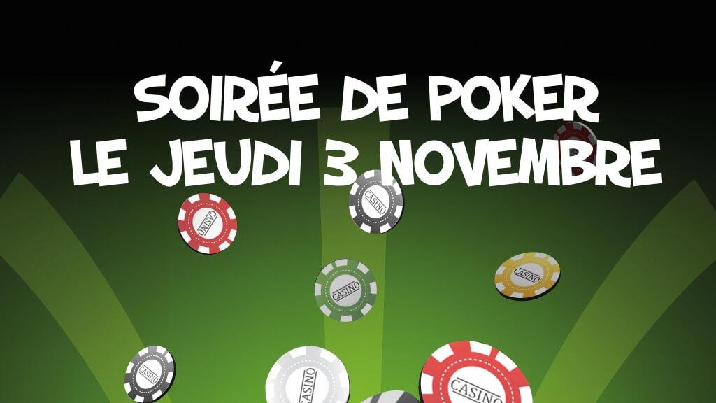 Soirée poker du département Informatique du Cégep de Matane.