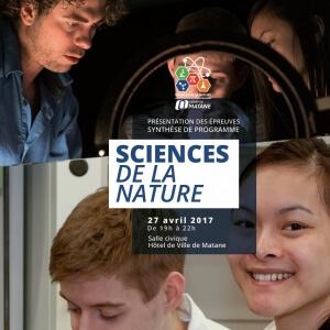 Présentation des épreuves synthèse de programme en Sciences de la nature<br />Crédit Photo: Caroline Rousseau