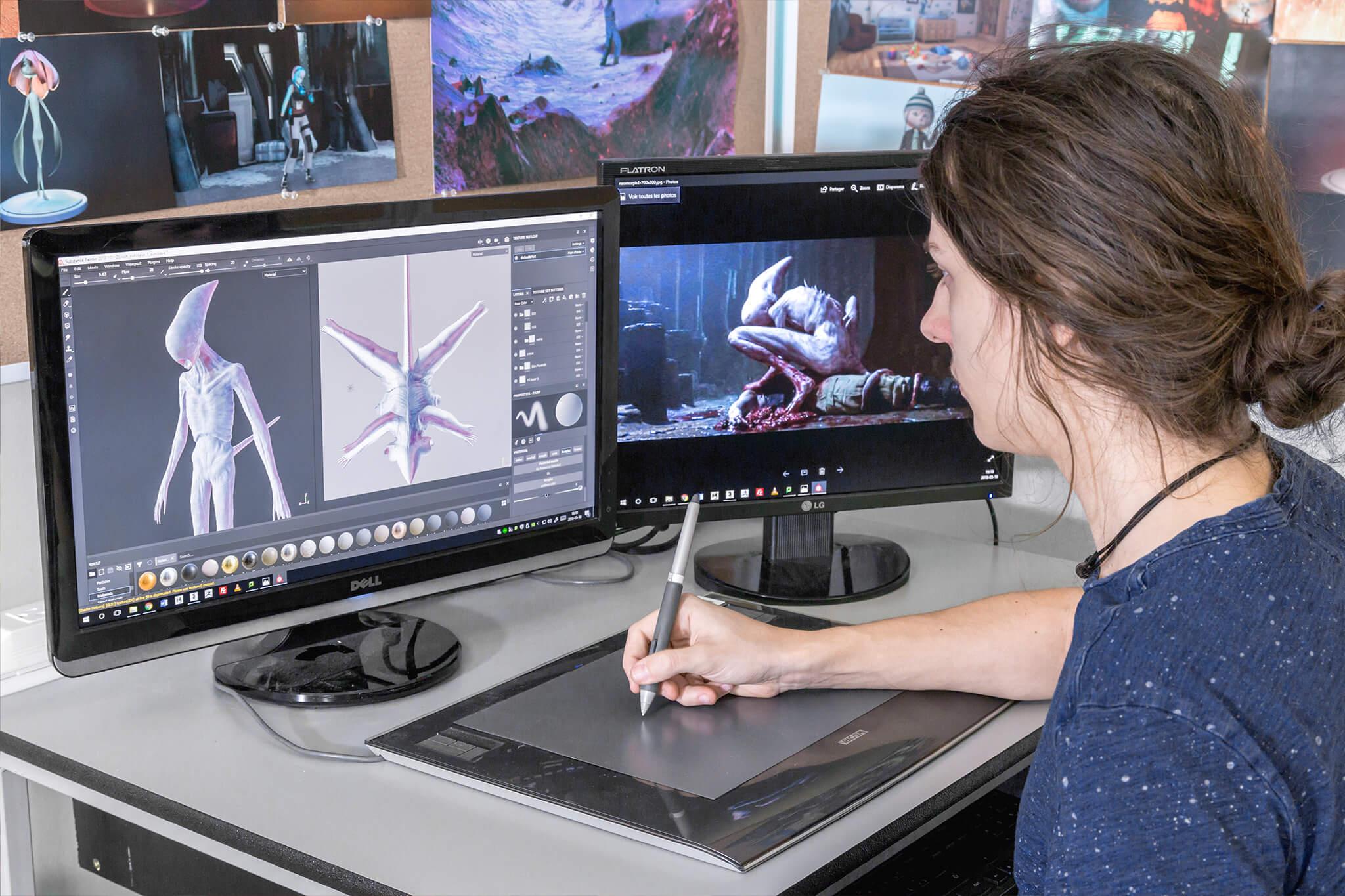 Animation 3D et synthèse d'images