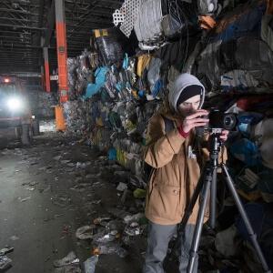 Samuel Bolduc travaillant sur la deuxième phase du concours Sony World Photography Awards!<br />