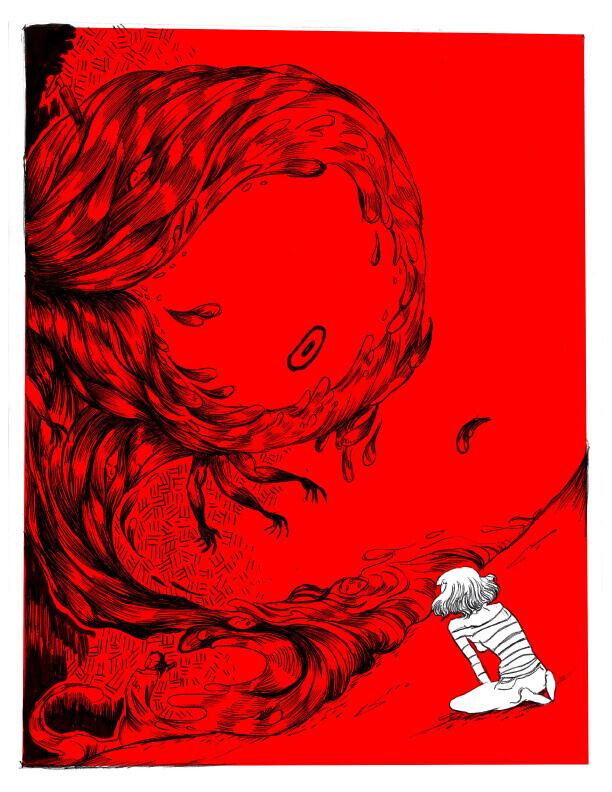 Page 3 - CégepBD oeuvre de Mélissa Doulouma.<br />Crédit Photo: Mélissa Doulouma