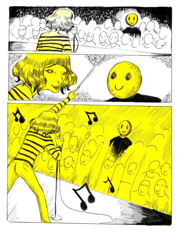 Page 4 - CégepBD oeuvre de Mélissa Doulouma.<br />Crédit Photo: Mélissa Doulouma