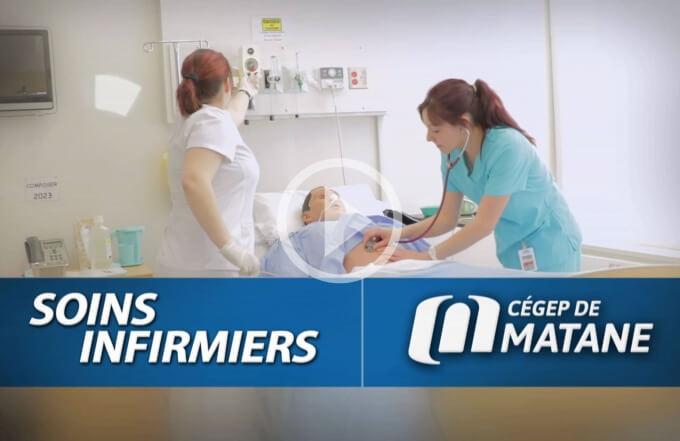 Vidéo promotionnelle du programme soins infirmiers