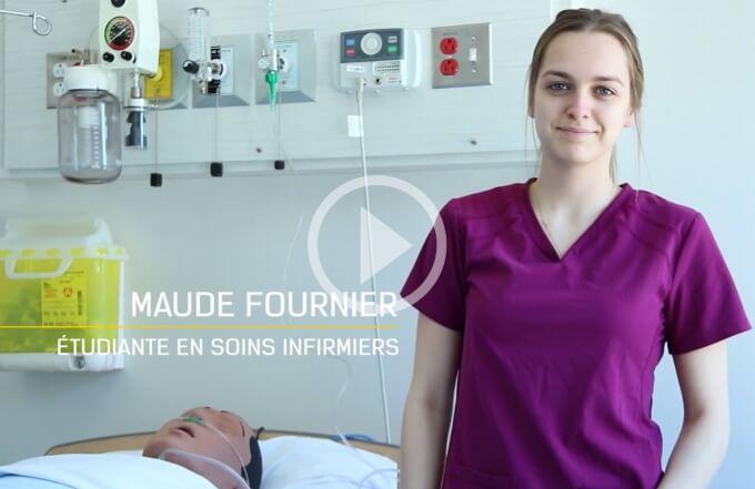 Vidéo témoignage d'une étudiante en soins infirmiers