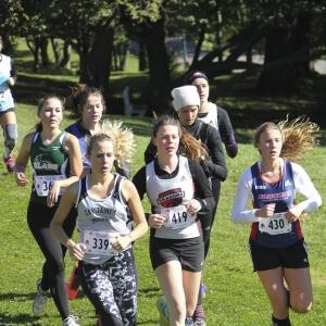 Compétition de cross-country sur les Plaines d'Abraham du samedi 3 octobre dernier.<br />