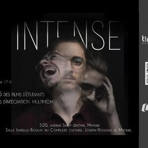 Intense - Films étudiants du programme Intégration multimédia.<br />Source : Alexandre Di Muro