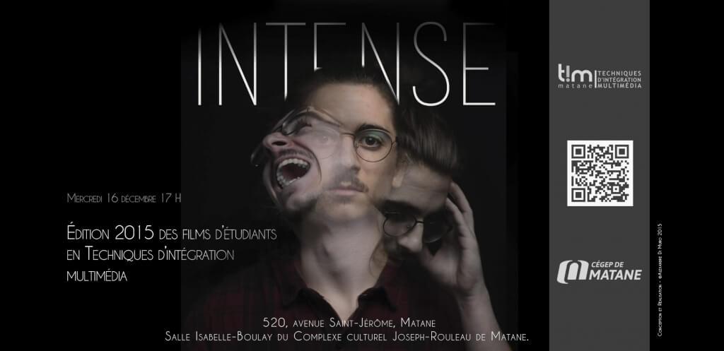 Crédit Photo: Alexandre Di Muro<br/>Intense - Présentation des films étudiants du programme Techniques d'Intégration multimédia.