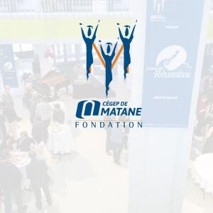 Fondation du Cégep de Matane.<br />