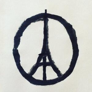 Peace for Paris<br />Source : Slate.fr
