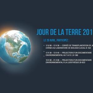 Le CACE du Cégep de Matane souligne le Jour de la Terre<br />