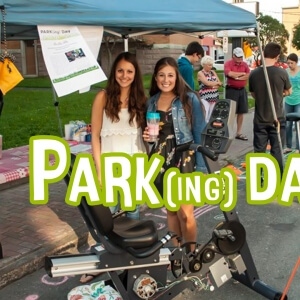 Parking Day 2015.<br />Crédit Photo: Marc-André Bouffard