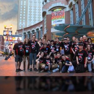 Édition 2016 de l'équipe Supertronix 5910 lors du Championnat international de Saint-Louis<br />Source : Supertronix 5910
