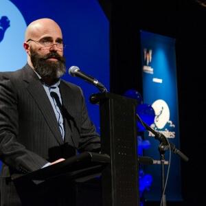 M. Étienne Du Berger, président du conseil d'administration de la Fondation du Cégep de Matane.<br />Crédit Photo: Philippe St-Pierre