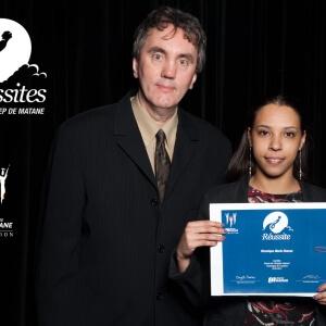 Véronique Marie Hoarau, bourse de l'étudiant inspirant en Tourisme - Cégep de Matane<br />Crédit Photo: Philippe St-Pierre