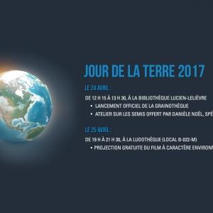 Jour de la Terre 2017 au Cégep de Matane.<br />