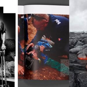 Montage d'extraits des oeuvres de Nicolas Lévesque, de Julien Grimard et de Martin Tremblay, anciens étudiants du programme de Photographie et lauréats des Grands prix LUX.<br />Crédit Photo: Concours LUX