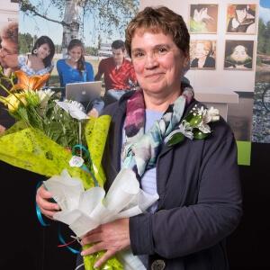 Diane Caron, enseignante en Techniques de tourisme<br />Crédit Photo: Terry Lecocq