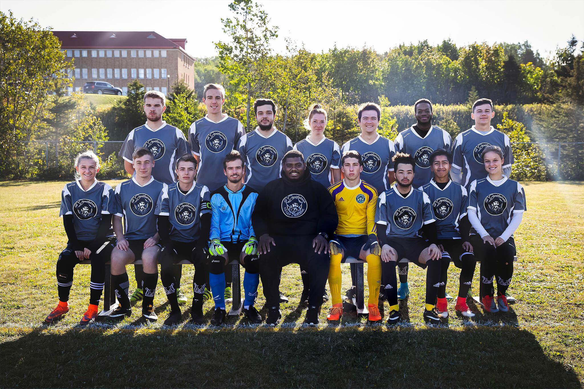 Capitaines - Soccer extérieur mixte