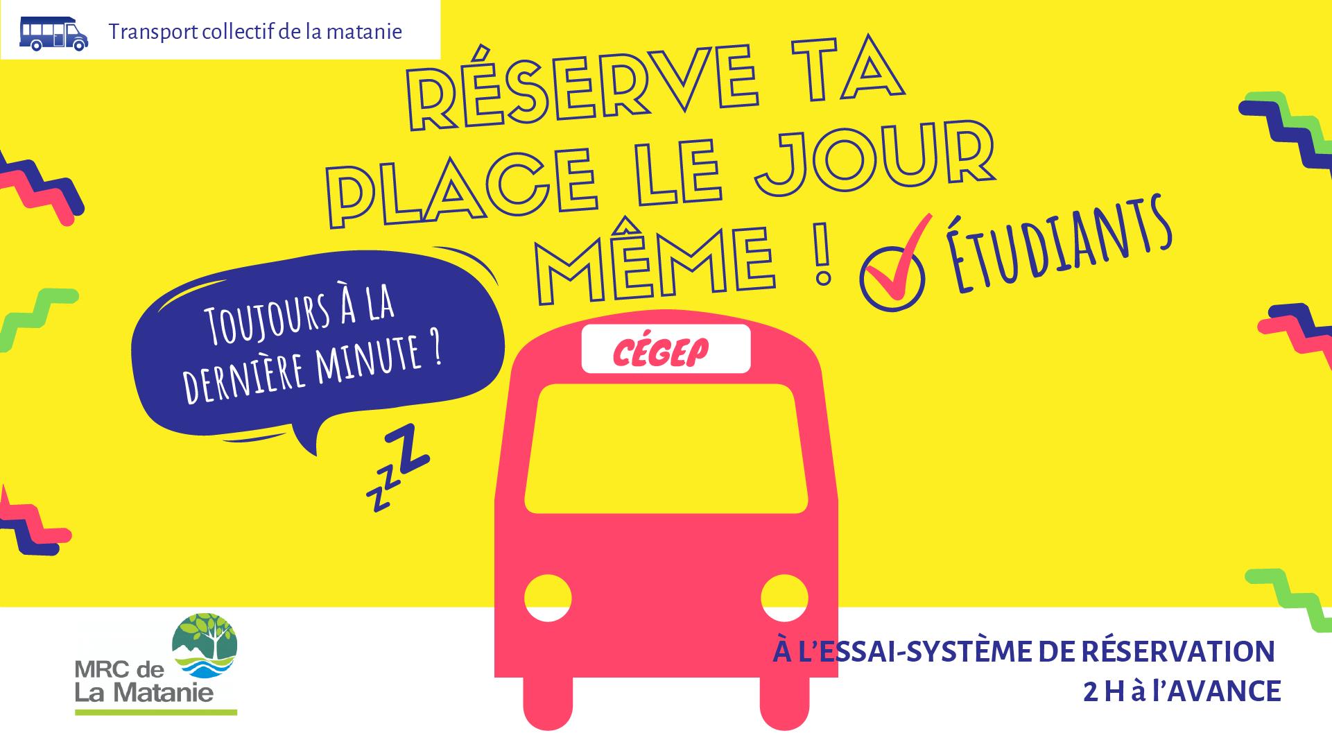 Affiche du bus