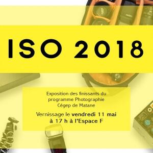 ISO 2018, l'exposition des finissants du programme Photographie.<br />