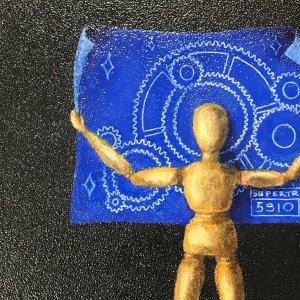 Promesse d'une étoile - Tirage d'une œuvre originale de Jean-Martin Fleury  au profit de l'équipe Supertronix 5910 de Matane <br />Source : Jean-Martin Fleury