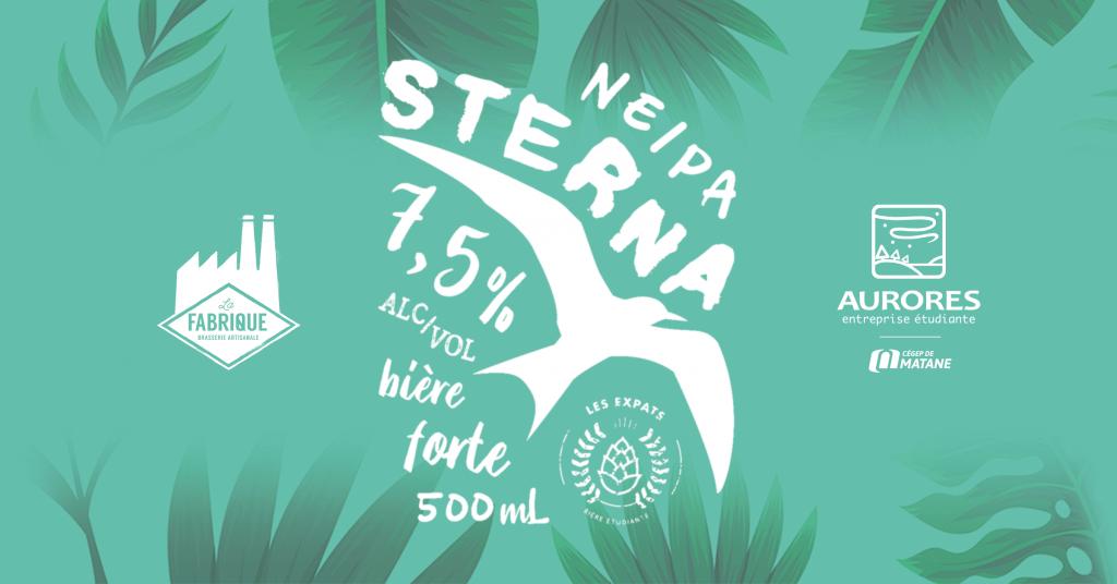 Étiquette de la bière, Sterna