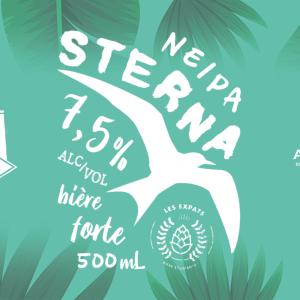 Étiquette de la bière, Sterna<br />