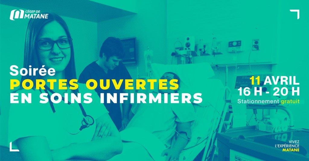 affiche des portes ouvertes soins infirmiers
