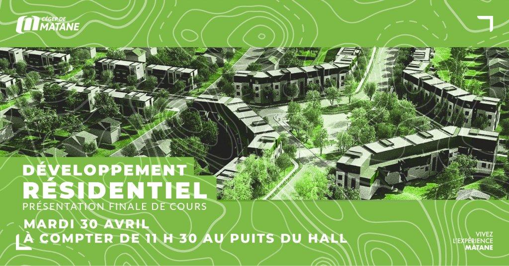 Affiche des ESP de Aménagement et urbanisme
