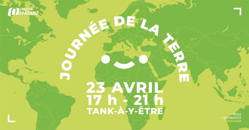 Affiche Journée de la Terre du 23 avril