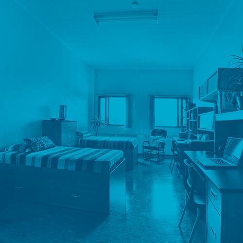 chambre dans les résidences du cégep