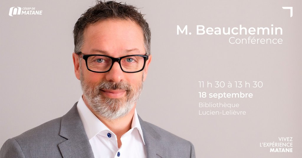 Affiche Mr. Beauchemin