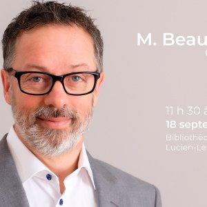 Affiche Mr. Beauchemin