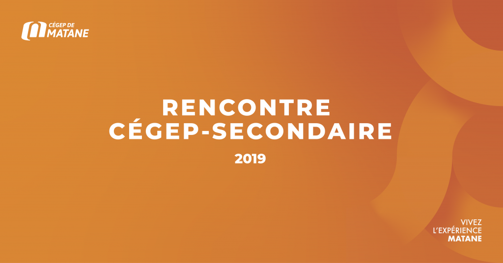 Header rencontre cégep secondaire