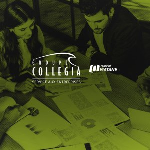 Affiche pour gestion de commerce collegia