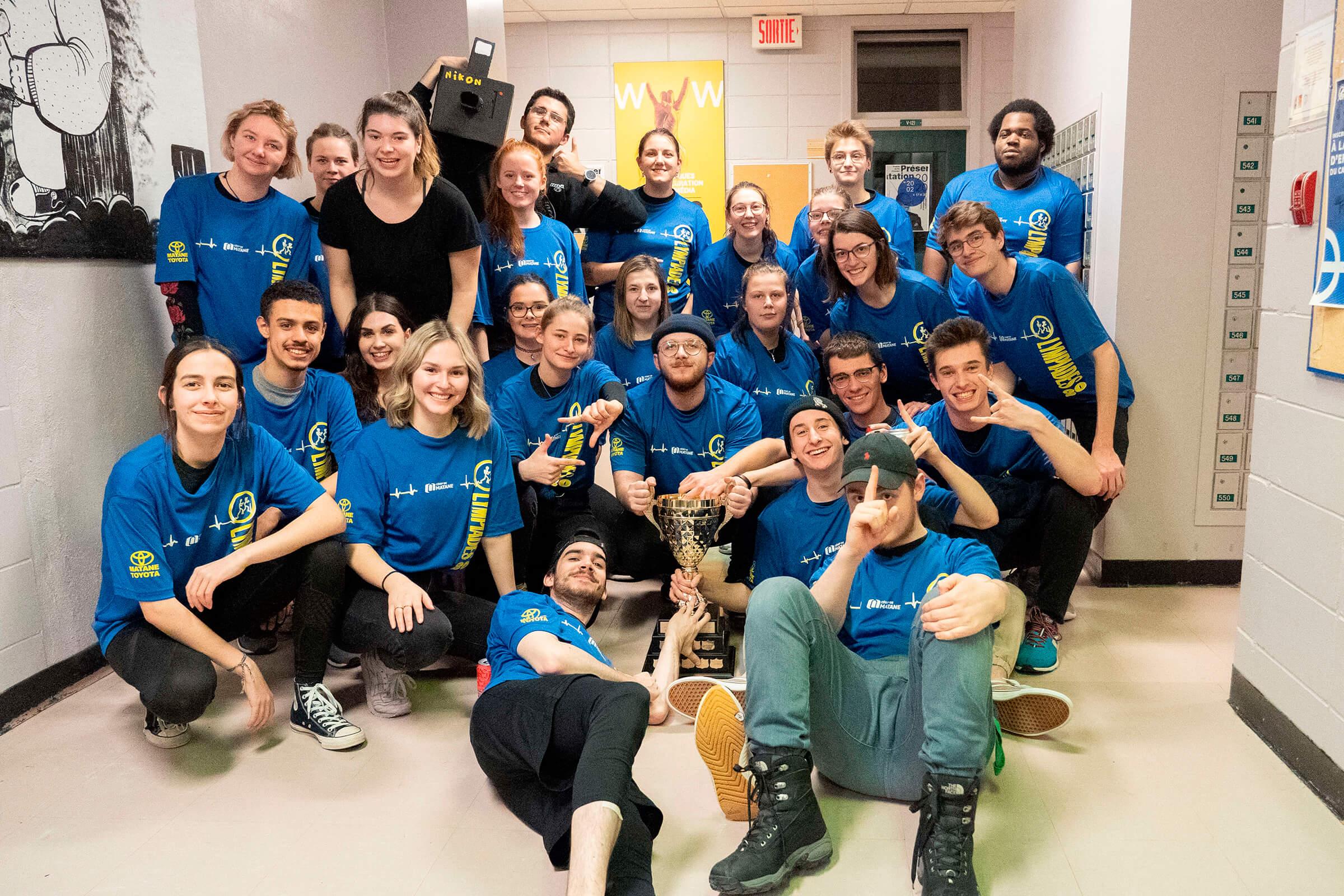 L'équipe du programme Photographie remporte les Olympiades de la vie active