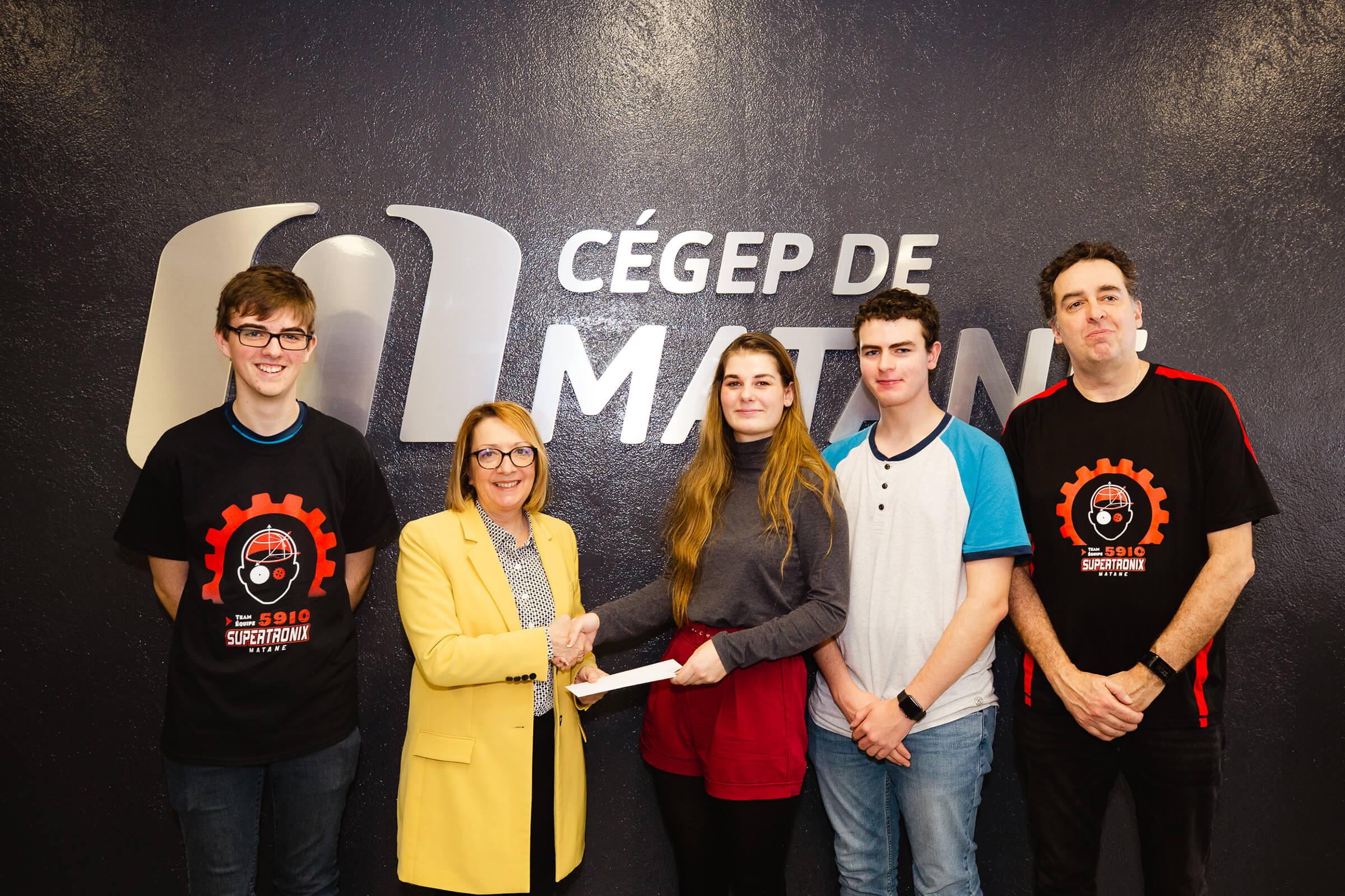 Remise de bourses d'études par la Fondation du Cégep de Matane
