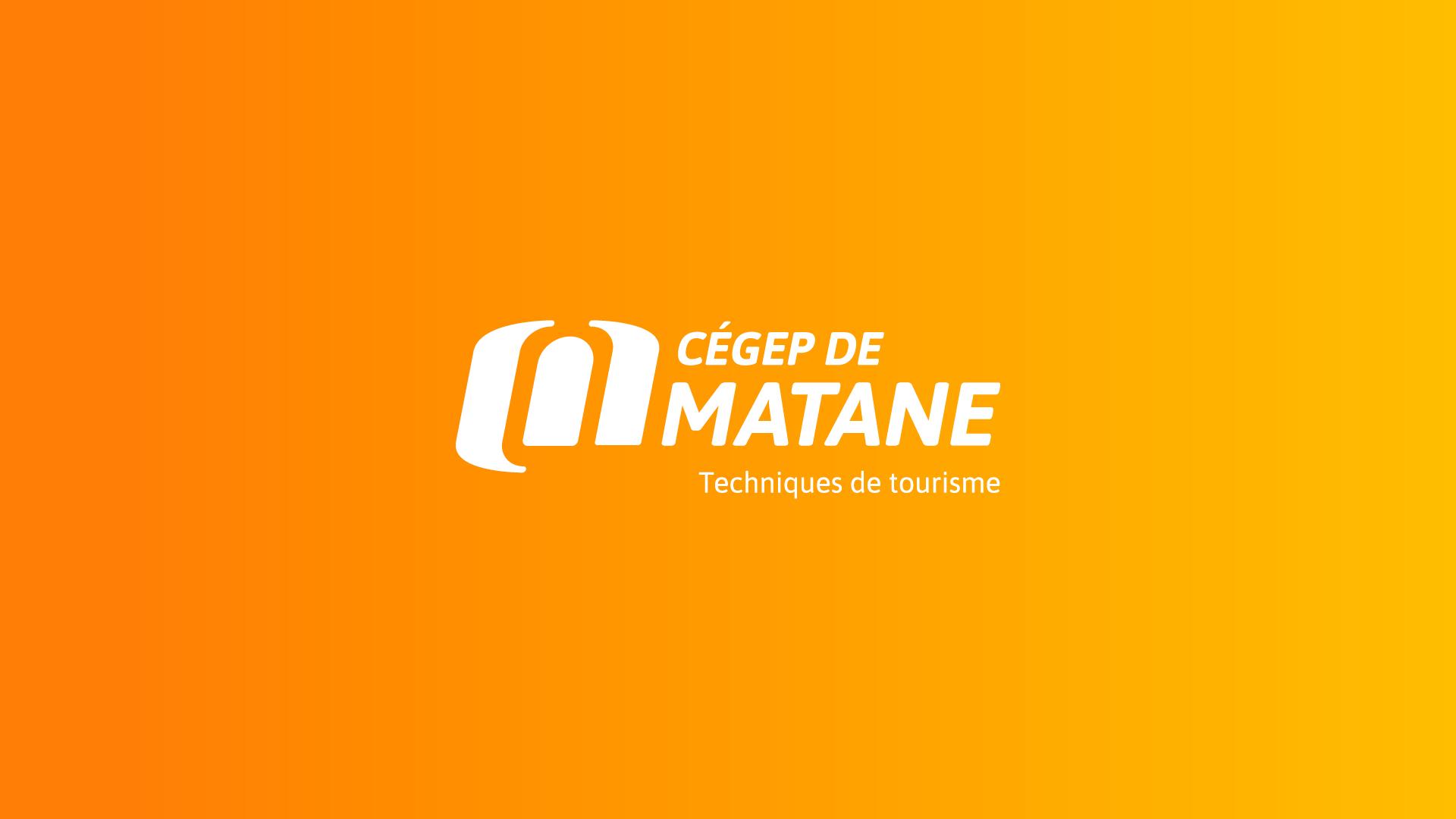 Logo Cégep de Matane pour Tourisme