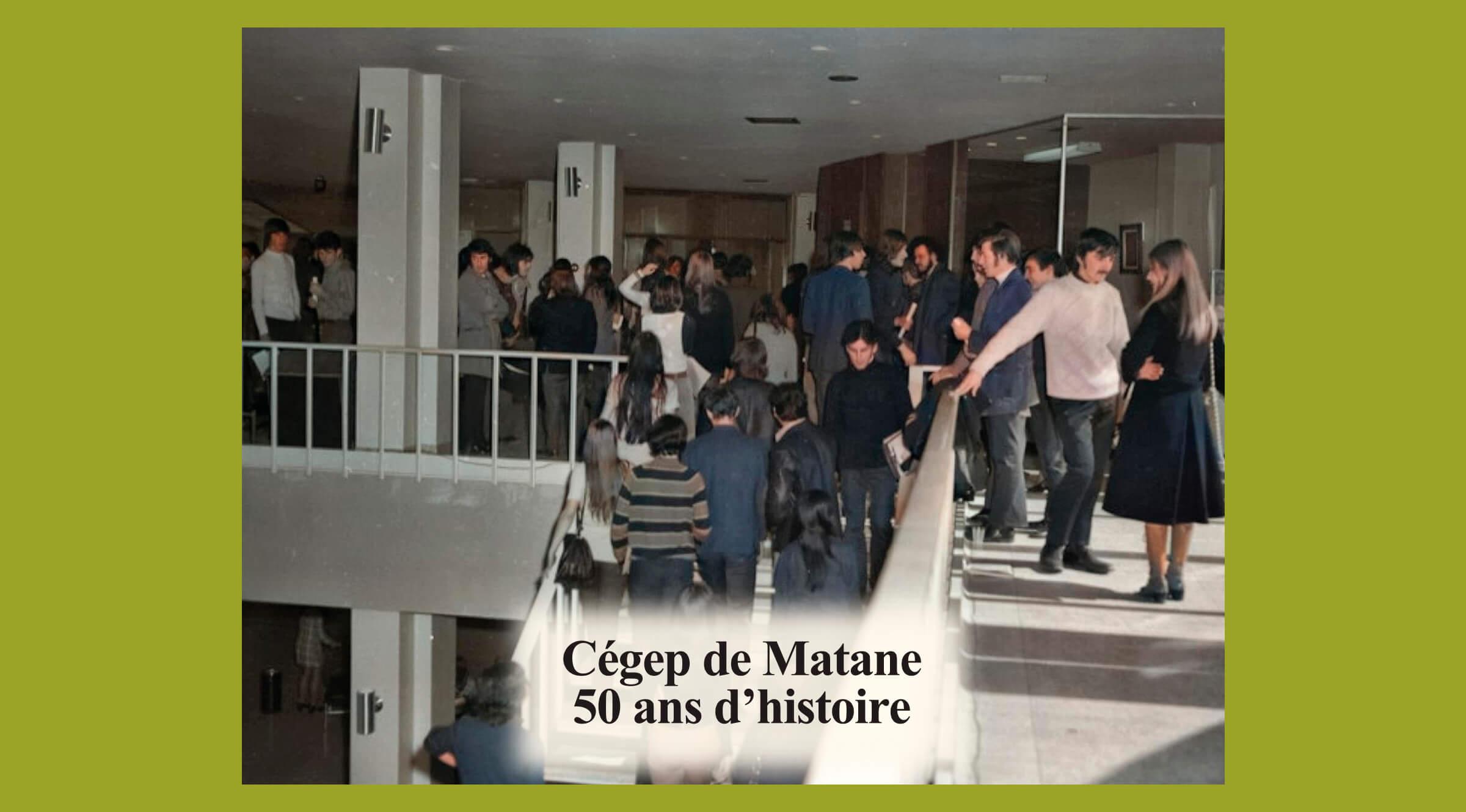Le 109e numéro d'Au pays de Matane souligne les 50 ans du Cégep de Matane