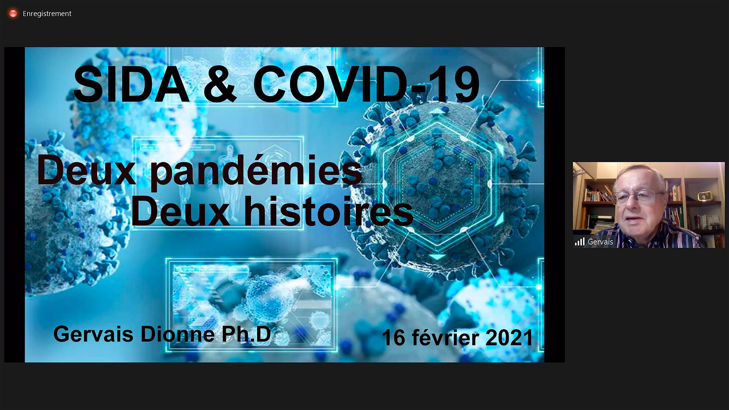 Un éminent scientifique en conférence au Cégep de Matane pour parler du VIH et de la COVID-19