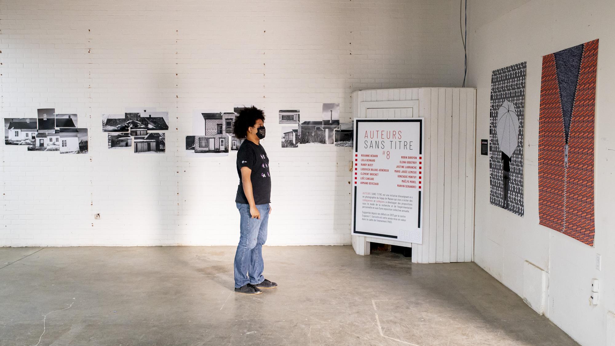 Exposition Auteurs sans titre dans le cadre de l'événement PHOS