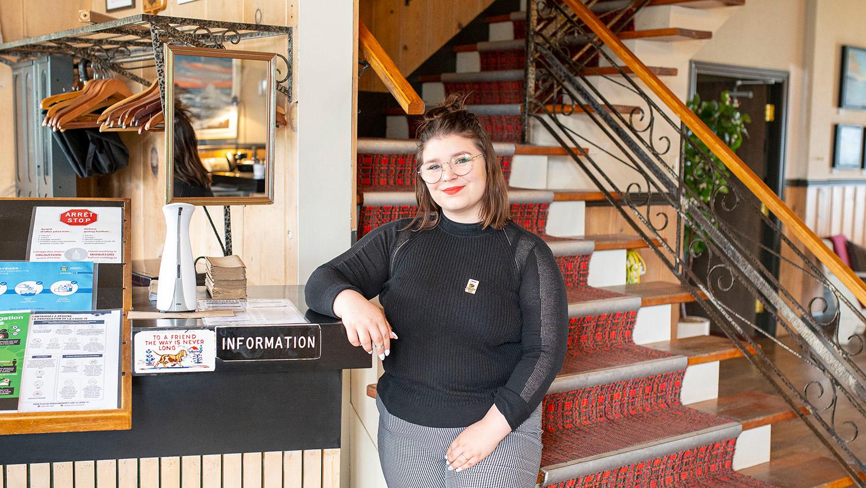 Cinq stagiaires du Cégep de Matane en renfort cet été dans l'industrie touristique